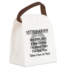vetrealdoctor Canvas Lunch Bag