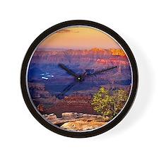 Grand Canyon Sunset Wall Clock
