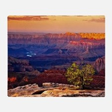 Grand Canyon Sunset Throw Blanket