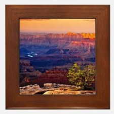 Grand Canyon Sunset Framed Tile