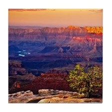 Grand Canyon Sunset Tile Coaster