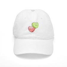 Candy Hearts Baseball Cap