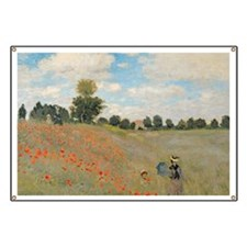 Wild Poppies, near Argenteuil by Claude Mon Banner