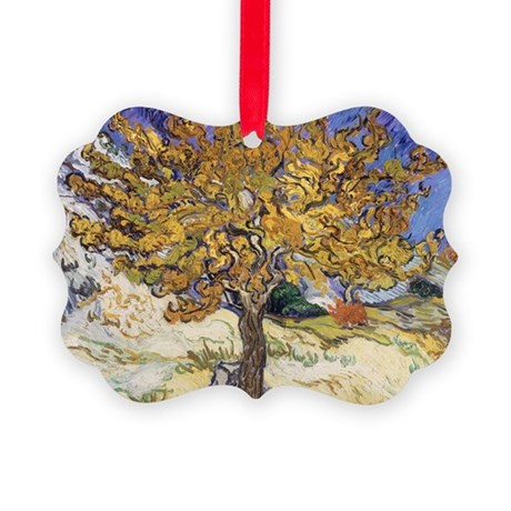 Mulberry Tree, 1889 by Vincent Va Picture Ornament