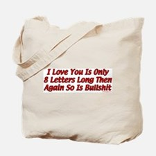 8 Letters Tote Bag
