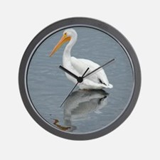The Pelican King 1 Wall Clock