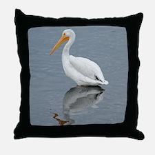 The Pelican King 1 Throw Pillow