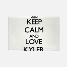 Keep Calm and Love Kyler Magnets