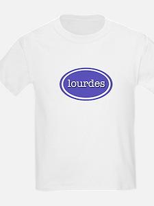 Lourdes - Nameplate Kids T-Shirt