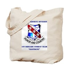 101 AB DIV-1BDE CT WITH TEXT Tote Bag