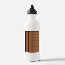 ChocolateBariPadCaseon Water Bottle