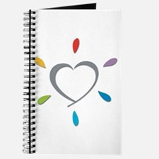 Colorful Heart Journal