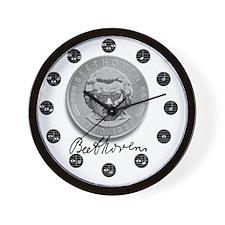 BEETHOVEN CLOCK SILVER Wall Clock