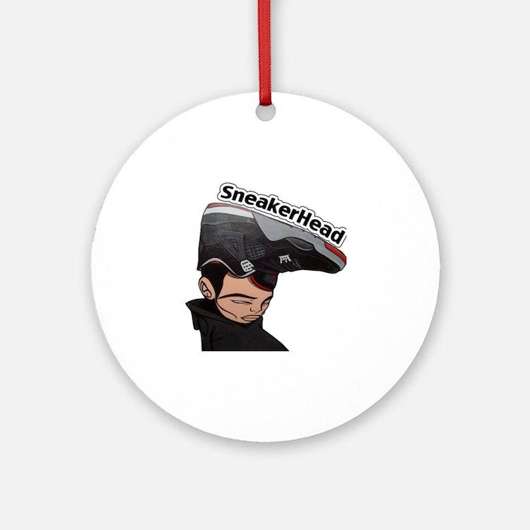 Jordan-Head- Round Ornament