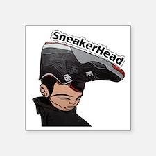 """Jordan-Head- Square Sticker 3"""" x 3"""""""