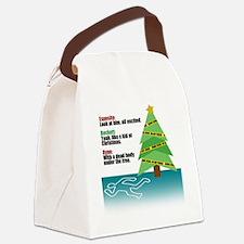 deadbody Canvas Lunch Bag