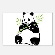 Panda with Bamboo Postcards (Package of 8)