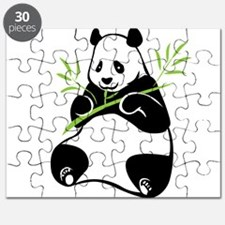 Panda with Bamboo Puzzle