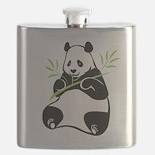 Panda with Bamboo Flask