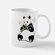 Panda with Bamboo Mugs