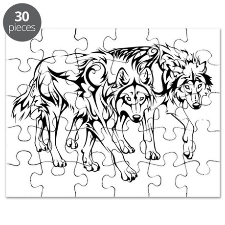wolfpack_tribal_final Puzzle