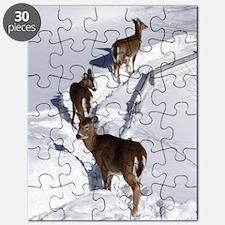 7.5x5.5_card deer Puzzle