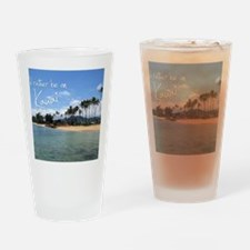 CalendarBeach Drinking Glass