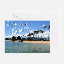 CalendarBeach Greeting Card
