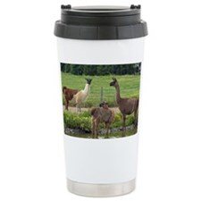llamatrio2_lgframed Travel Mug