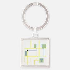 GooglemapsTron Square Keychain