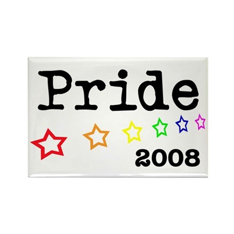 Pride 2008 Rectangle Magnet (100 pack)