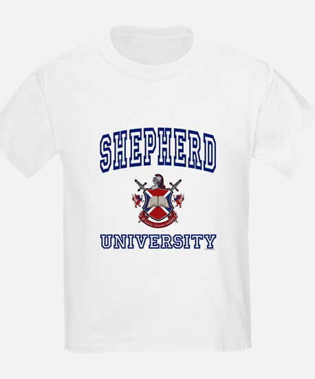 SHEPHERD University Kids T-Shirt