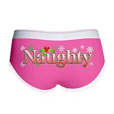 naughtyxmas Women's Boy Brief