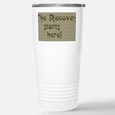 recovery embossed Travel Mug