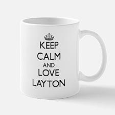 Keep Calm and Love Layton Mugs