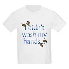 Hand Wash Kids T-Shirt