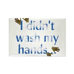 Hand Wash Rectangle Magnet (100 pack)