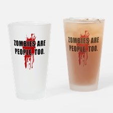 ZombiesPeople Drinking Glass