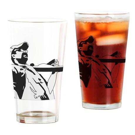 MBW fun BW Drinking Glass