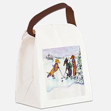 hockeysq Canvas Lunch Bag
