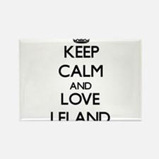 Keep Calm and Love Leland Magnets