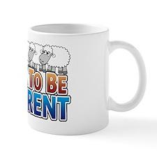 its-ok-to-beANIMALS_blacksheep Mug