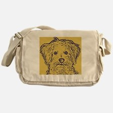 Schnoodle_2tone Messenger Bag