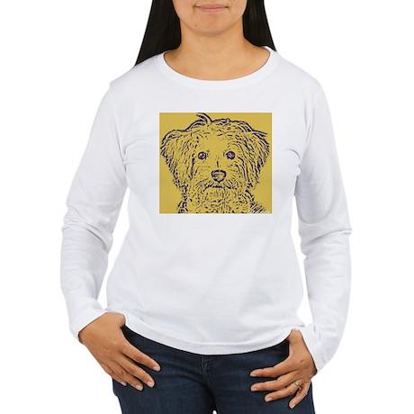 Schnoodle_2tone Women's Long Sleeve T-Shirt