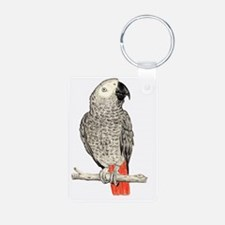 African Grey in Pencil Keychains