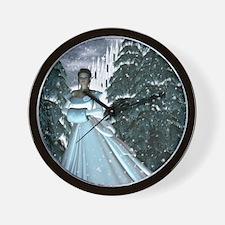 Circe Nymph Snow QueenRB Wall Clock