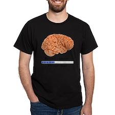 Brain Loading a T-Shirt