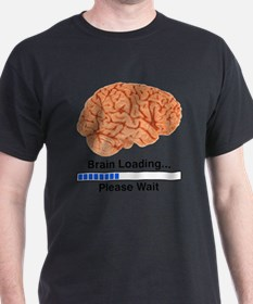 Brain Loading a T-Shirt