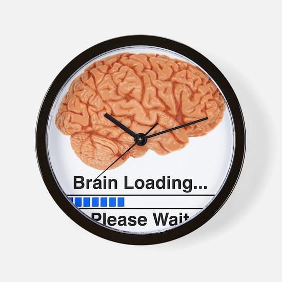 Brain Loading a Wall Clock