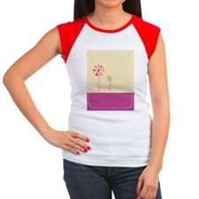 Bloom Women's Cap Sleeve T-Shirt